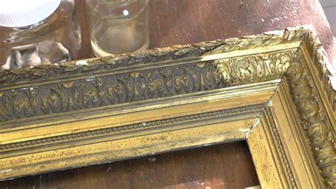 pulire cornici dorate pulitura cornice barbizon francese