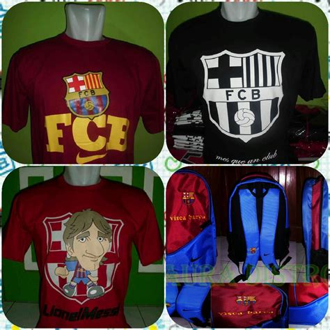 Kaos Distro Visca Barca visca barca shop home