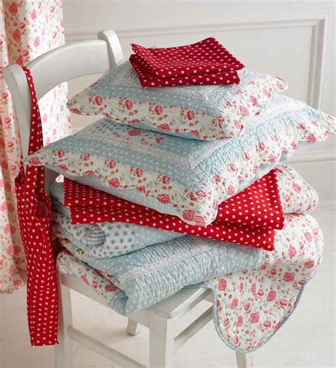 Pink Patchwork Bedding - quot quot blue pink patchwork quilt accessories s
