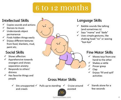 motor skills 12 months babies development milestones 6 to 12 months