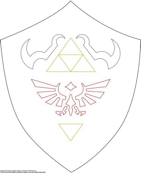 zelda release pattern shield pattern for future link zelda costume http www