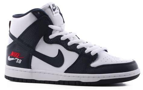 obsidian color nike nike sb dunk high pro sb skate shoes free shipping