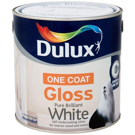 Dulux Pentalite Brillian White 2 5 Lt dulux once gloss brilliant white paint 2 5 litre gloss topline ie