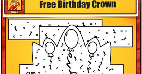Happy Birthday Crown Template by Classroom Freebies Free Birthday Printable