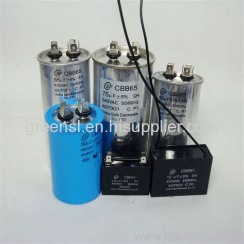 capacitor electrical electric motor capacitor cbb65 60 61 manufacturer from china anhui safe electronics co ltd