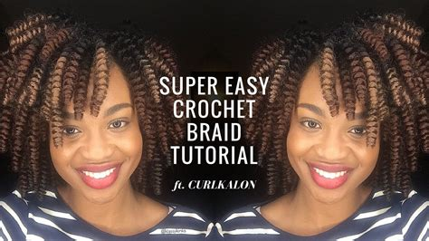tutorial crochet braiding bh4u youtube crochet braid tutorial curlkalon carrie curl klassy