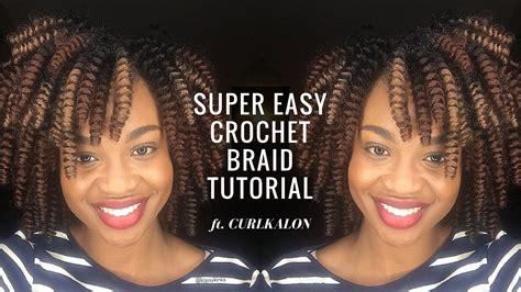 tutorial crochet braiding bh4u youtube crochet braid tutorial curlkalon carrie curl klassy