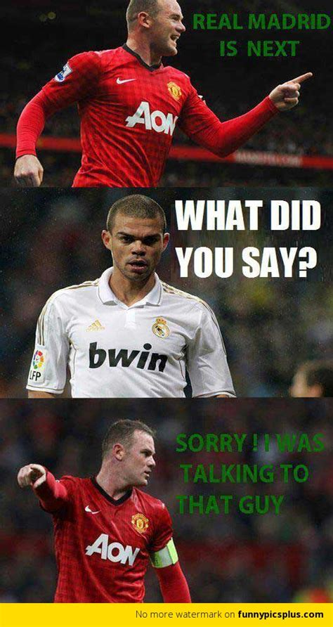 Real Madrid Meme - manchester united vs real madrid memes funny pictures