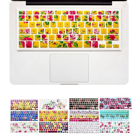 graphic design keyboard cover flower floral nature design keyboard cover stickers for