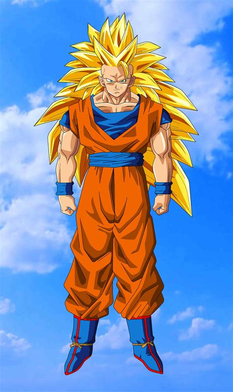 San Goku saiyan orange gotanime club