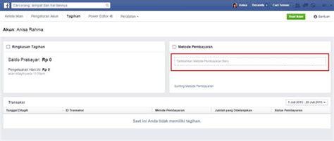 cara membuat akun iklan facebook cara membuat akun iklan facebook pembayaran atm bersama bejo