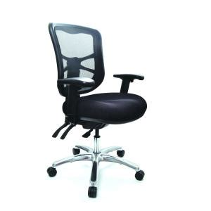 buro metro chair buro metro task chair with aluminium base adjustable