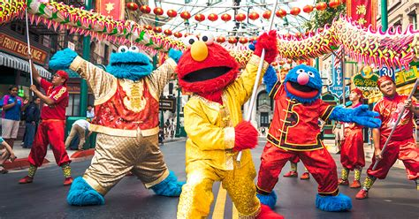 new year universal studios singapore universal studios singapore celebrates lunar new year 2018