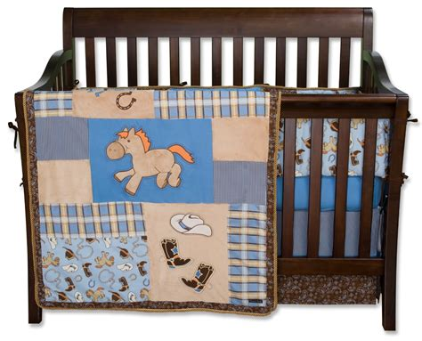 Trend Lab Cowboy Baby Crib Bedding And Decor Baby Cowboy Crib Bedding Sets