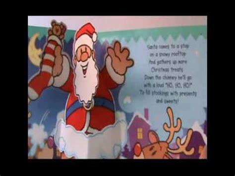 ho ho ho santa claus christmas popup book with sounds libro pop up con sonidos navidad youtube