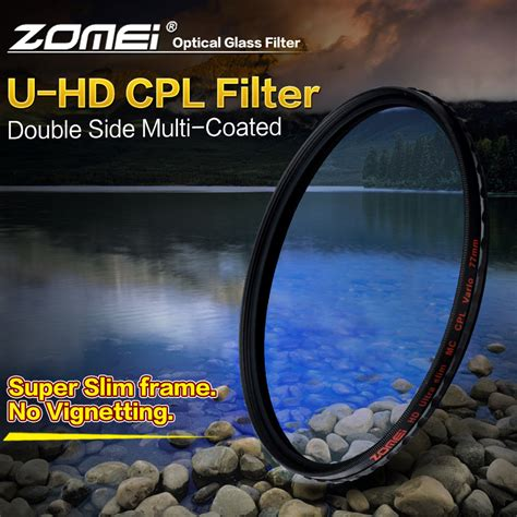 Hoya Cpl Hd 82mm Filter Cpl Filter Hd Filter Lensa zomei hd optical glass cpl filter slim multi coated circular polarizer polarizing lens filter 40