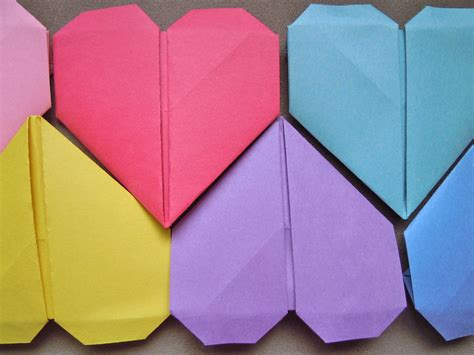 Hearts Origami - pin origami on