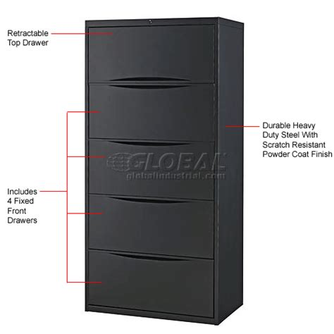 interiontm 30 premium lateral file cabinet 2 drawer black file cabinets lateral interion 174 30 quot premium lateral