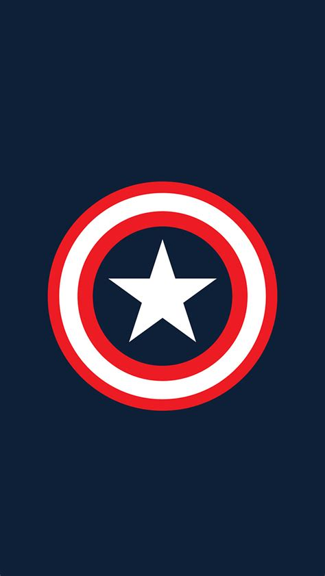 captain america logo wallpaper hd captain america logo iphone 5 wallpaper 640x1136