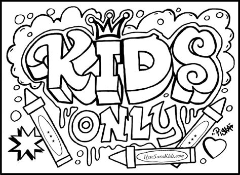 make a coloring page with words cool design coloring pages graffiti creator coloring