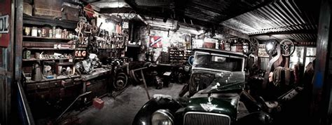 Garage Shop Designs old garage panorama by siilver1984 on deviantart