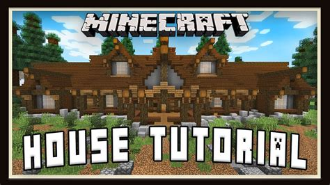 make a house a home minecraft tutorial how to build a house layout design