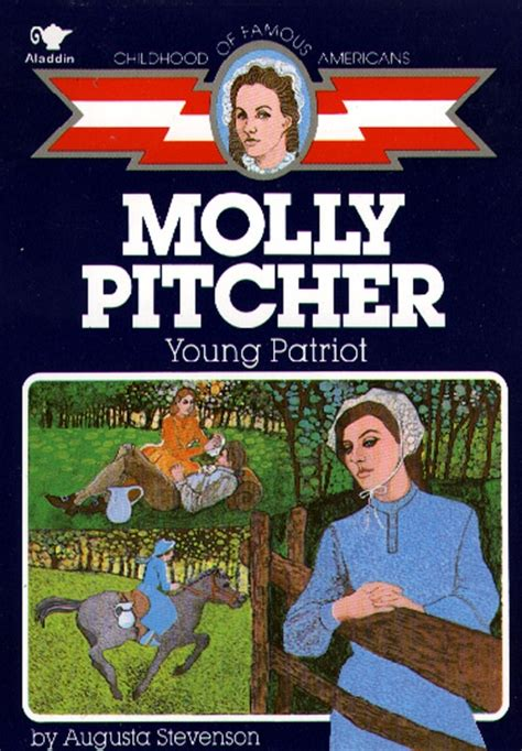 biography book club picks molly pitcher book by augusta stevenson official