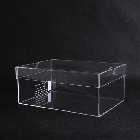 clear sneaker box high quality acrylic shoe display box acrylic sneaker box