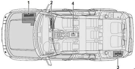 land rover discovery 3 fuse box diagram 2004 2009 187 fuse