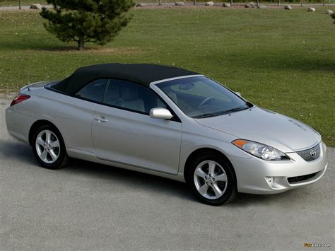 Toyota Camry Solara Convertible Wallpapers Of Toyota Camry Solara Convertible 2004 06