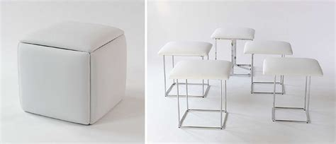 Ottoman That Turns Into 5 Stools by Best 25 Multifunctional Furniture Ideas On
