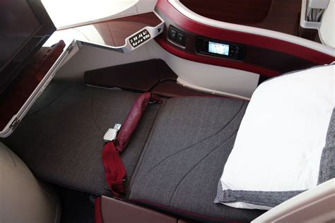reclined position around the world in 100 hours qatar airways first class