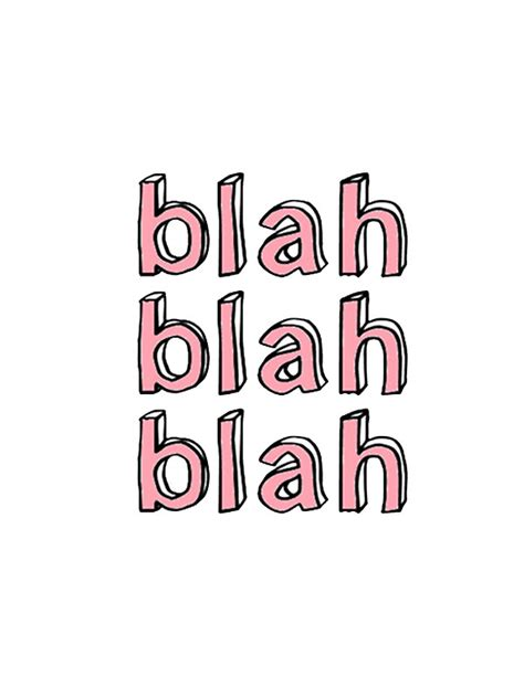 Candy Wall Stickers quot blah blah blah quot stickers by adjsr redbubble