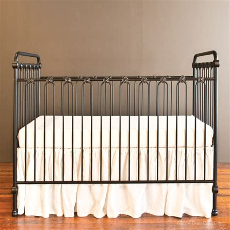 Distressed Wood Baby Crib by Baby Crib Distressed Black