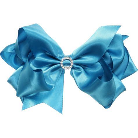 13897 Stripe Color bowtique bright blue satin bow with diamant 233 15