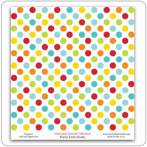 pattern making paper pretty little studio clowning around reveal pattern