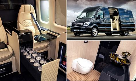 cer van with bathroom the senzati jet sprinter looks more like a private jet than a car daily mail online