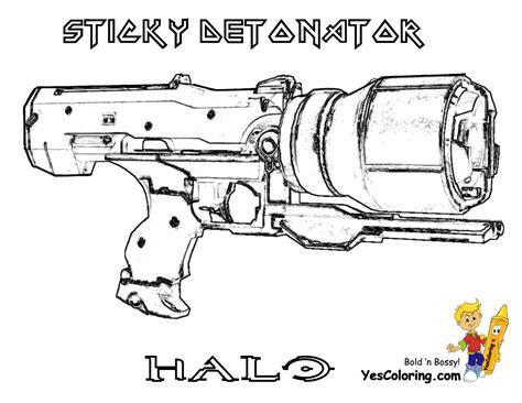 halo guns coloring pages portal gun free coloring pages