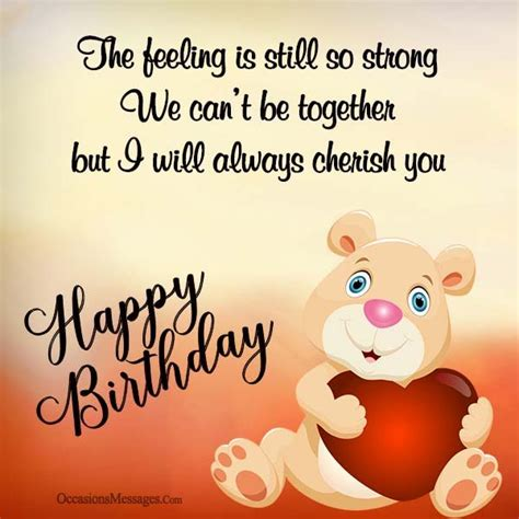 Happy Birthday Wishes To Ex Happy Birthday Wishes For Ex Wife Occasions Messages