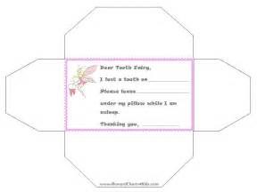 letter from the tooth template tooth letter template wordscrawl