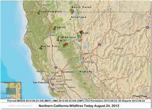 northern california wildfire map cfn california news cal news look