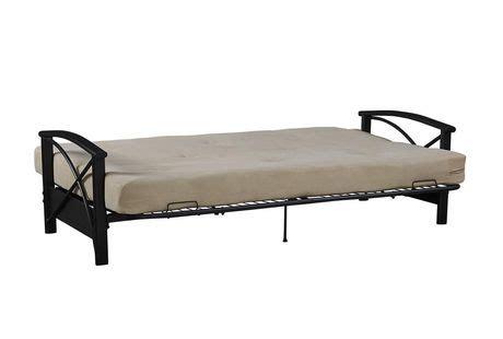 dhp futon mattress dhp 6 quot futon mattress walmart canada