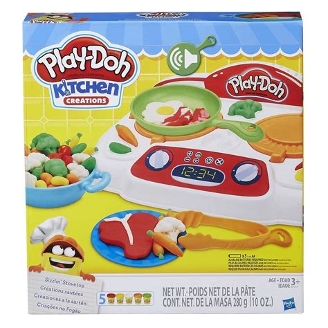 Play Doh Kitchen by Play Doh Kitchen Creations Sizzlin Stovetop Play Doh