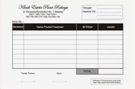 Printer Nota Murah Gambar Nota Faktur Kwitansi Invoice Percetakan Murah Malang Contoh Gambar Komputer Di Rebanas