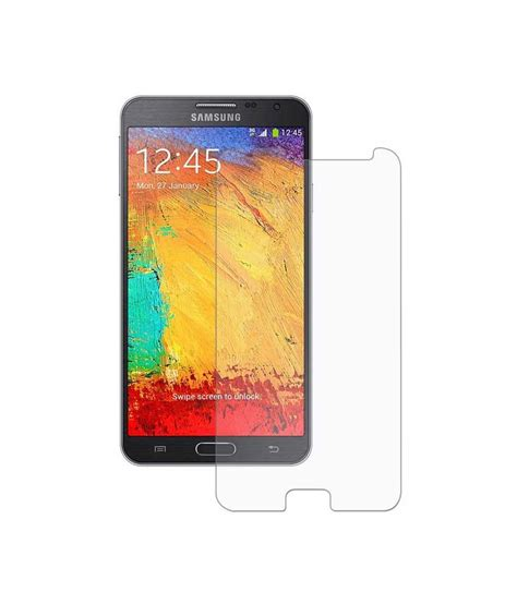 Tempered Glass Note 3 Neo samsung galaxy note 3 neo tempered glass screen guard by