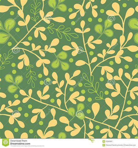 Muster Hintergrund Gr 252 N Und Goldblatt Nahtloser Muster Hintergrund Lizenzfreie Stockfotografie Bild 31903997