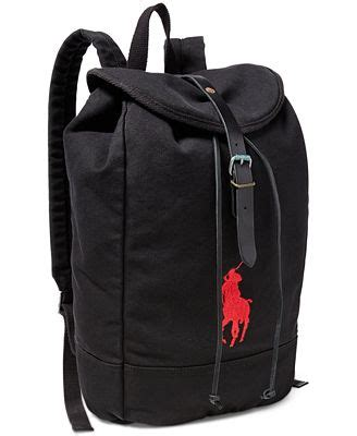 Ultimate Polo Backpack polo ralph s big pony canvas backpack wallets accessories macy s