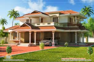 2 Story House by Beautiful Kerala Style 2 Story House 2328 Sq Ft