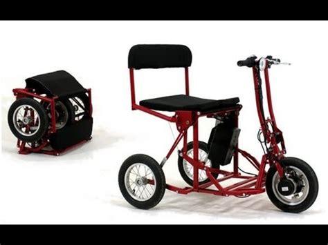 Di Blasis Motorized Folding Tricycle by Di Blasi R30 Folding Electric Tricycle Demo