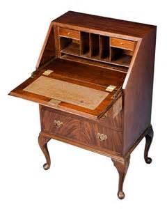 antique style mahogany bureau desk